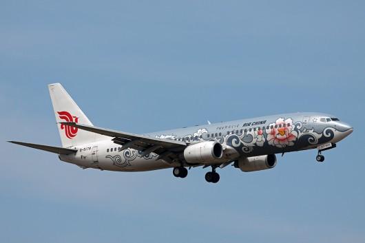 CA/CCA/中国国際航空 B737-800 B-5078 銀牡丹