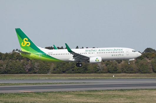 IJ/SJO/春秋航空日本 B737-800 JA03GR