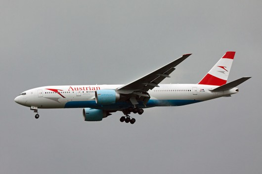 OS/AUA/オーストリア航空 B777-200ER OE-LPA