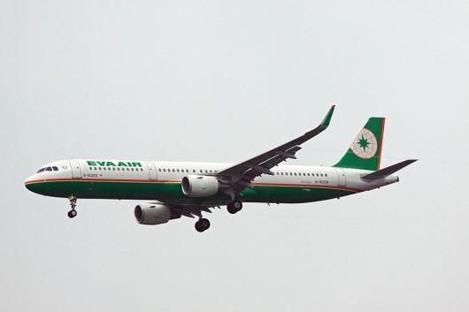 BR/EVA/エバー航空 A321 B-16209