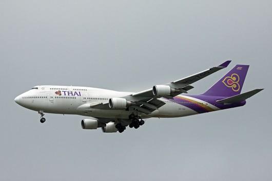 TG/THA/タイ国際航空 B747-400 HS-TGO