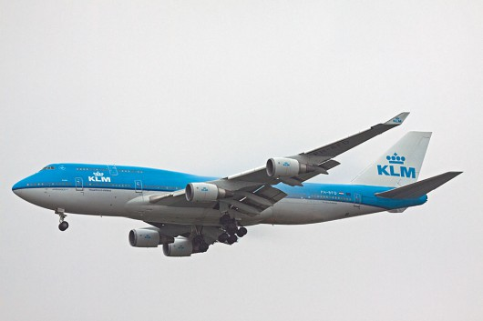 KL/KLM/KLMオランダ航空 B747-400Combi PH-BFD