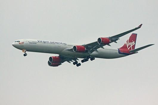 VS/VIR/ヴァージン・アトランティック航空 A340-600 G-VFIT