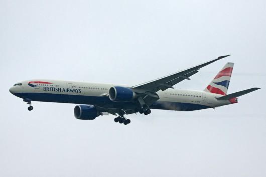 BA/BAW/英国航空 B777-300ER G-STBF