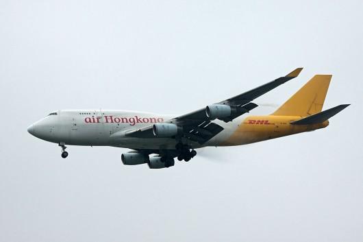LD/AHK/エアーホンコン B747-400F B-HUR