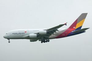 OZ/AAR/アシアナ航空 A380 HL7626