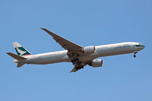 CX/CPA/キャセイパシフィック航空 B777-300ER B-KPG