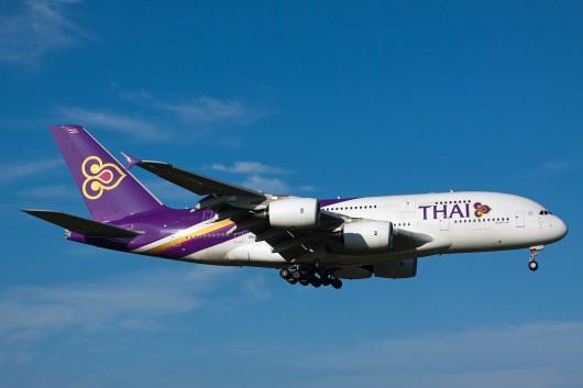 TG/THA/タイ国際航空 TG676 A380 HS-TUE