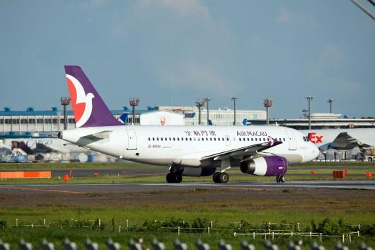 NX/AMU/マカオ航空 NX861 A320 B-HAN