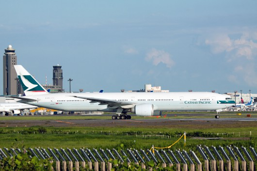 CX/CPA/キャセイパシフィック航空 CX451 B777-300ER B-KPA