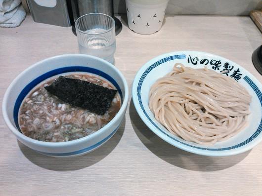 あっさり鶏豚つけ麺(780円)