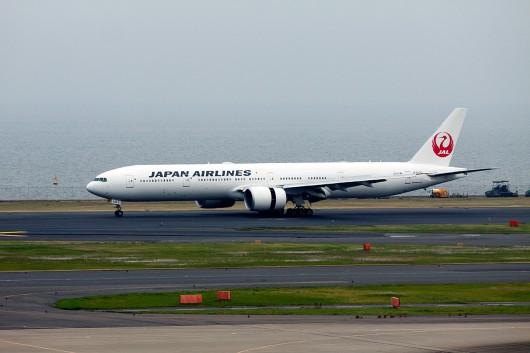 JL/JAL/日本航空 JL44 B777-300ER JA742J