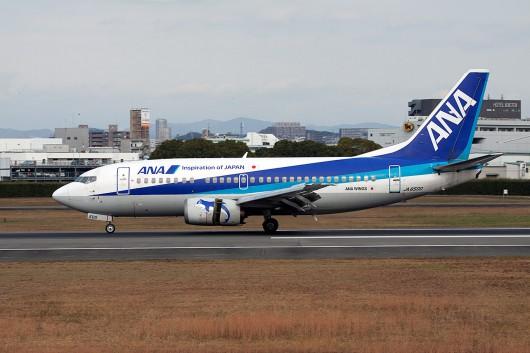 NH/ANA/全日空 NH1642 B737-500 JA8500