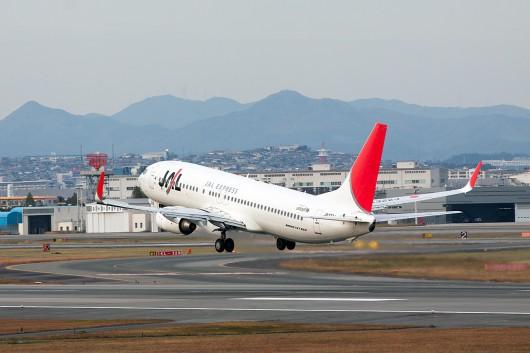 JL/JAL/日本航空 JL3006 B737-800 JA322J