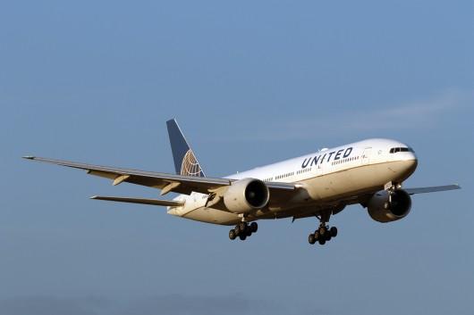 UA/UAL/ユナイテッド航空 B777-200ER N69020