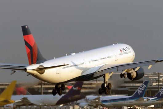 DL/DAL/デルタ航空  A330-300 N811NW