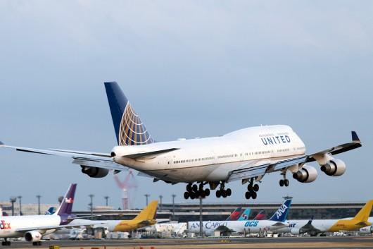 UA/UAL/ユナイテッド航空 B747-400 N118UA