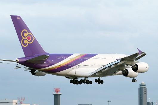 TG/THA/タイ国際航空 A380 HS-TUF