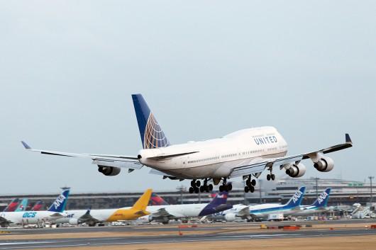 UA/UAL/ユナイテッド航空 B747-400 N172UA