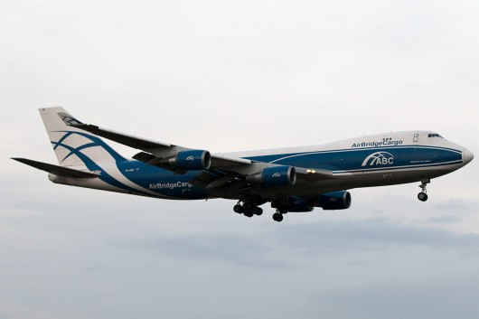 RU/ABW/エアブリッジカーゴ B747-400F VQ-BHE