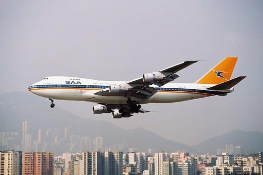 SA/SAA/南アフリカ航空 B747-200 ZS-SAO