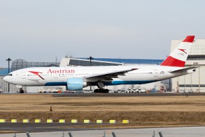 OS/AUA/オーストリア航空 OS51 B777-200ER OE-LPA