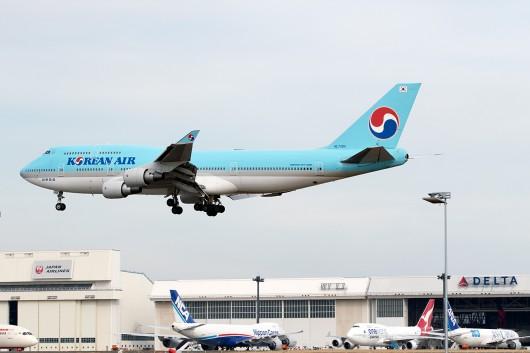 KE/KAL/大韓航空 KE703 B747-400 HL7404
