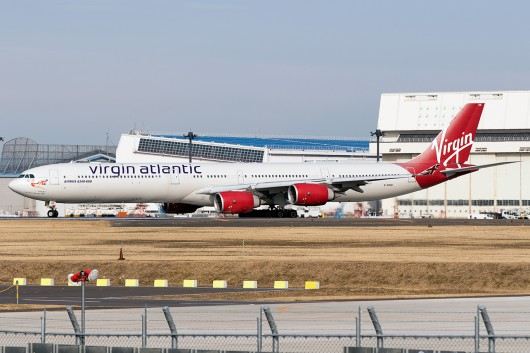VS/VIR/ヴァージンアトランティック航空 VS901 A340-600 G-VBUG