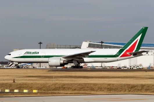 AZ/AZA/アリタリア航空 AZ787 B777-200 EI-DBK