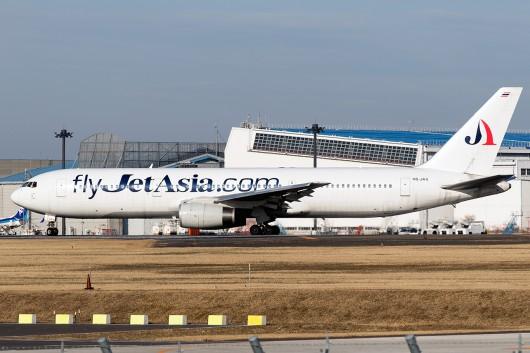 JF/JAS/ジェット・アジア・エアウェイズ   B767-300ER HS-JAS