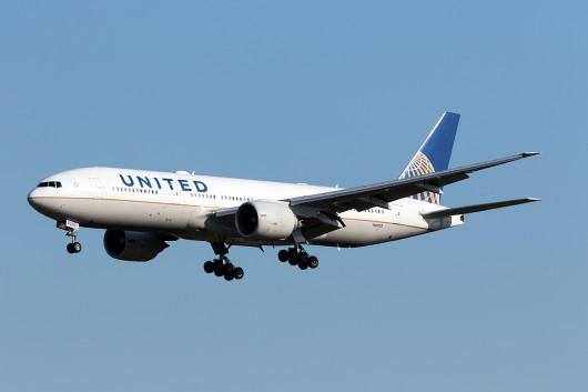 UA/UAL/ユナイテッド航空 UA79 B777-200ER N69020