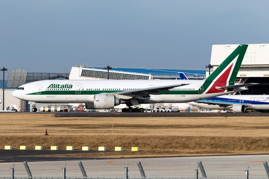 AZ/AZA/アリタリア航空 AZ785 B777 I-DISU