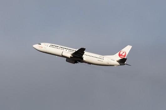 NU/JTA/日本トランスオーシャン航空  B737-400 JA8994