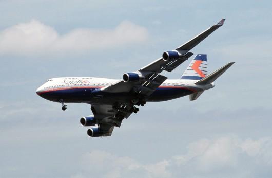 カナディアン航空 B747-400