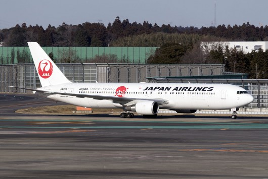 JL/JAL/日本航空  B767-300ER JA614J