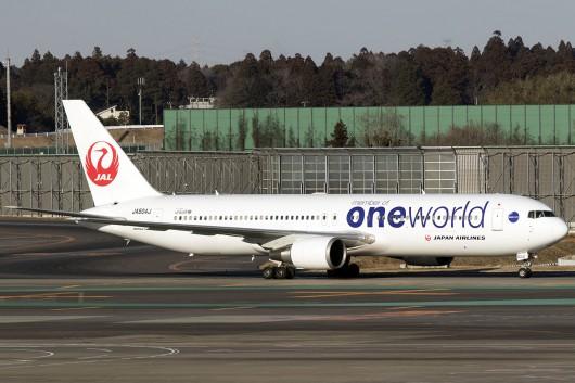 JL/JAL/日本航空  B767-300ER JA604J