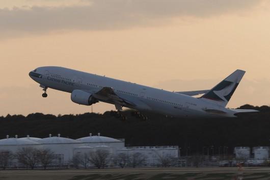 CX/CPA/キャセイパシフィック航空  B777-200 B-HND