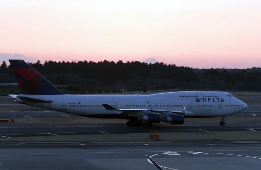DL/DAL/デルタ航空  B747-400 N760US