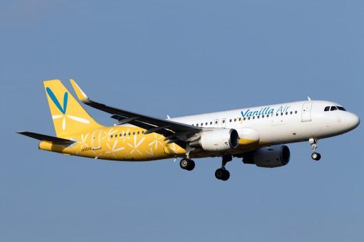 JW/VNL/バニラエア 802 A320 JA05VA