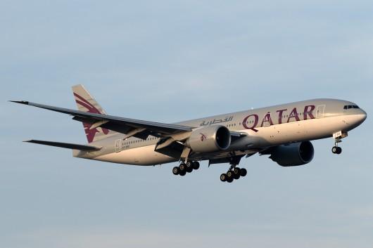 QR/QTR/カタール航空 806 B777-200LR A7-BBD
