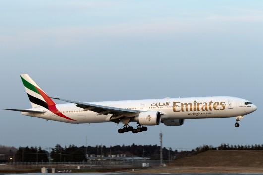 EK/UAE/エミレーツ航空  B777-300 A6-EGH