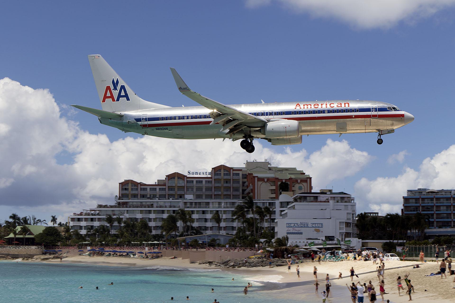 AA/AAL/アメリカン航空 AA2219 B7... AA/AAL/アメリカン航空 AA221