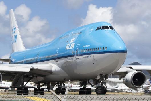 KL/KLM/KLMオランダ航空 KL785 B747-400 PH-BFB