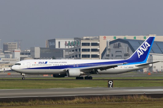 NH/ANA/全日空  B767-300 JA8342