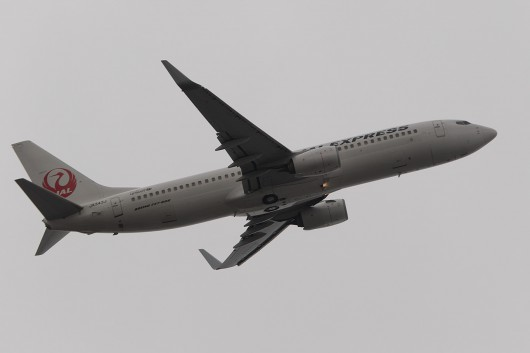 JL/JAL/日本航空  B737-800 JA343J