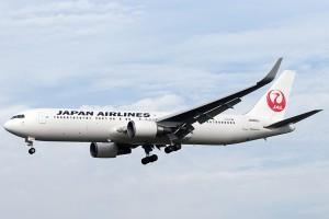 JL/JAL/日本航空 JL724 B767-300ER JA606J