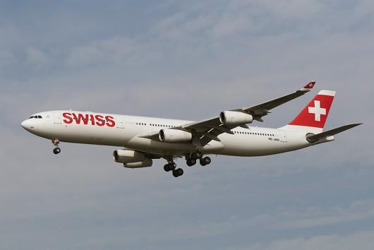 LX/SWR/スイス国際航空 LX160 A340-300 HB-JMO
