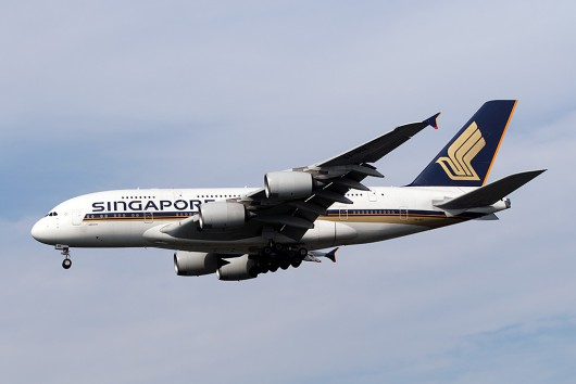 SQ/SIA/シンガポール航空 SQ638 A380 9V-SKE