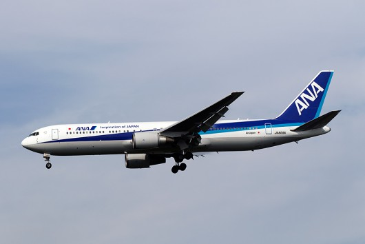 NH/ANA/全日空 NH832 B767-300ER JA609A