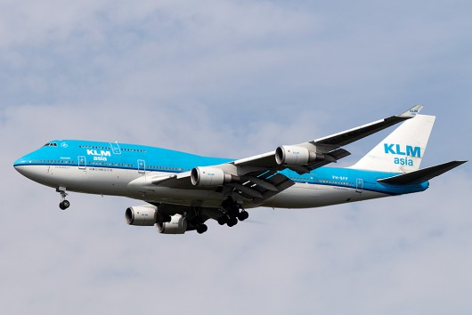 KL/KLM/KLMオランダ航空 KL861 B747-400M PH-BFP